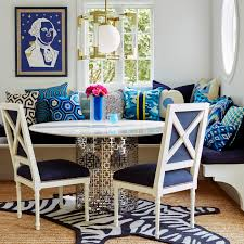 nixon dining table modern furniture jonathan adler