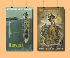 Hawaii travel art images Travel art hawaii little gold pixel jpg