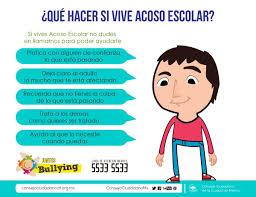 imagenes bullying escolar consejo ciudadano mx on twitter recomendaciones para la prevención
