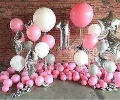balloon decoration for birthday at home birthday balloon ideas related post 40th birthday yard decoration