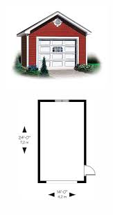 1 Car Garage Dimensions 27 Best One Car Garage Plans Images On Pinterest Garage Plans