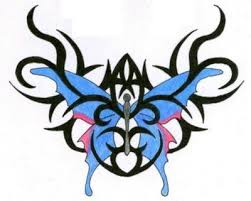 17 best lower back butterfly tribal tattoos images on