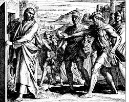 Jesus Healed The Blind Man Healing The Two Blind Men In Galilee Wikipedia