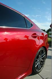 lexus cars red 2010 lexus is f matador red mica 6speedonline porsche forum