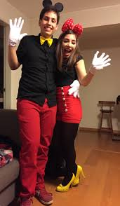 mickey mouse halloween costumes haloween costume minnie and mickey couple halloween