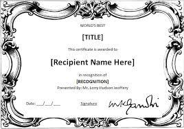 award template education certificate achievement award template