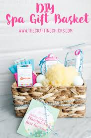 diy spa gift basket diy spa spa gifts and free printable