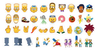 emoji android the simpsons emoji keyboard free emojis for your ios android
