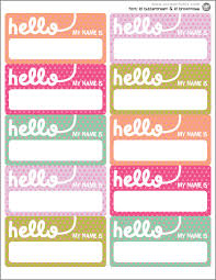 printable name tags free name tag printable classroom management free