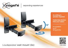 Speaker Wall Mounts Vlb 200 Speaker Wall Mounts 2x