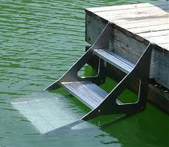 dog stairs for dock and boats this would make a great addition