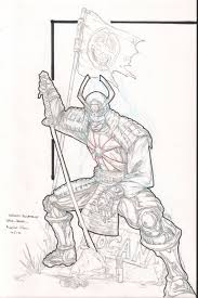 silver samurai sketch commissh by pyroglyphics1 on deviantart