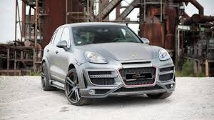 porsche cayenne matte black ct exclusive releases widebody kit for porsche cayenne