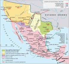 Political Map Of Mexico Historical Maps Of Mexico