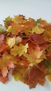 Fall Cake Decorations Edible Fall Leaves Wafer Paper Toppers For Cakes Cupcakes Or