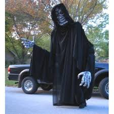 Grim Reaper Halloween Costumes Auction Amazing 9 Ft Tall Giant Grim Reaper Halloween