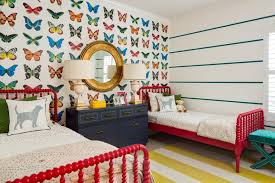 Themed Bedrooms For Girls Girls U0027 Butterfly Themed Bedroom 2015 Fresh Faces Of Design