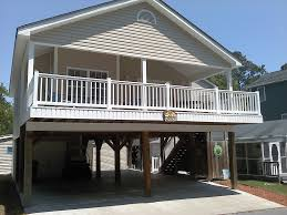 Beach House Open Floor Plans by House On Pilings Plans