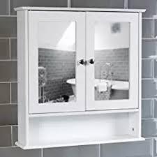 Mirrored Cabinet Bathroom by Amazon Co Uk Mirror Cabinets Home U0026 Kitchen