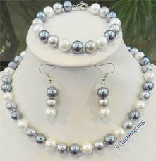 white shell pearl necklace images Best shell pearl necklace photos 2017 blue maize jpg
