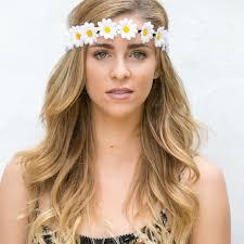 festival flower headbands crown headband flower headband coachella festival