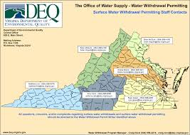 Map Of Virginia Cities And Towns by Virginia Deq Water Supply U0026 Water Quantity