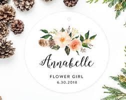 flower girl christmas ornament flower girl ornament etsy