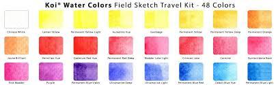 amazon sakura xncw 24n 24 assorted watercolors field sketch
