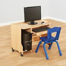 Beech Computer Desk Buy Child S Beech Computer Desk H600mm Tts International