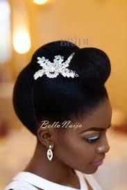 bella naija bridal hair styles astonishing dionne smith natural hair bride inspiration bellanaija