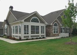 three white glass window front entry door basket beige exterior