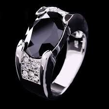 rings of men designs of men black sapphire rings 2014 fashion 2017