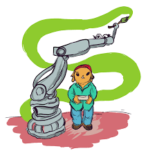 giant robot arm sudo room