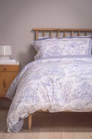 blue toile du jouy u2013 foxford woollen mills