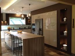 photo cuisine avec ilot central charmant cuisine ilot central bar et cuisine avec ilot central