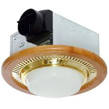 Exhaust Fan With Light For Bathroom Bathroom Fans Air King 100 Cfm Decorative Oak Exhaust Fan