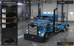 Custom Peterbilt Interior Peterbilt 351 Custom Interior V1 0 For Ats Download Game Mods