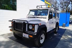land rover safari for sale 1993 land rover defender 110 stock 297 for sale near torrance
