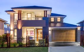 home design builders sydney glenleigh 39 double level by kurmond homes new home builders