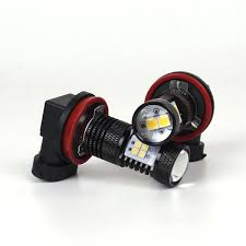 lexus yellow fog light capsule jdm astar 2x 1500lm h16 90 angles 3030 smd super white led bulbs