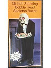 amazon com 3ft tall animated creepy butler led eyes light sound