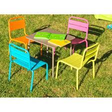 chaise de jardin enfant table enfant casimir tables de jardin tables chaises bancs