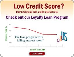 a low credit score but need a loan for a car debt