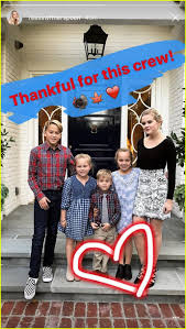 thanksgiving family vacations reese witherspoon shares cute thanksgiving family photos photo