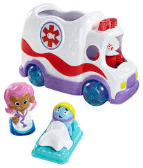 nickelodeon bubble guppies clambulance by fisher price