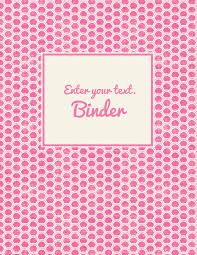 create your own planner template free binder cover templates pink polka dots