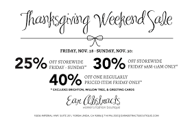 thanksgiving weekend sale ear abstracts boutique