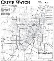 Toledo Map Toledo Crime Map Suburban Crime Log The Blade Gcrimemap Jpg