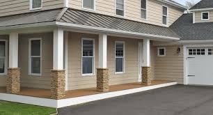 stone porch posts wraps