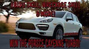 Porsche Cayenne 959 - forza horizon 3 forzathon win the porsche cayenne turbo ebisu